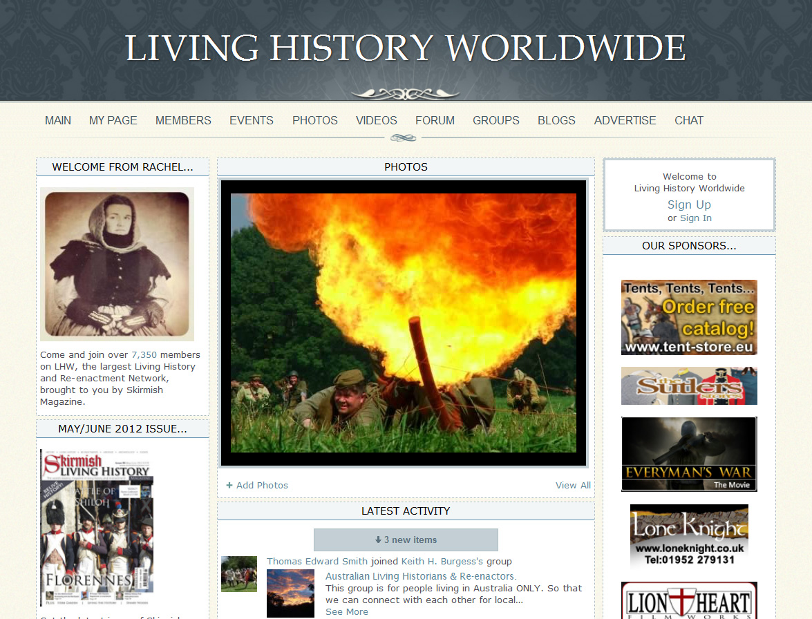 Living History Worldwide