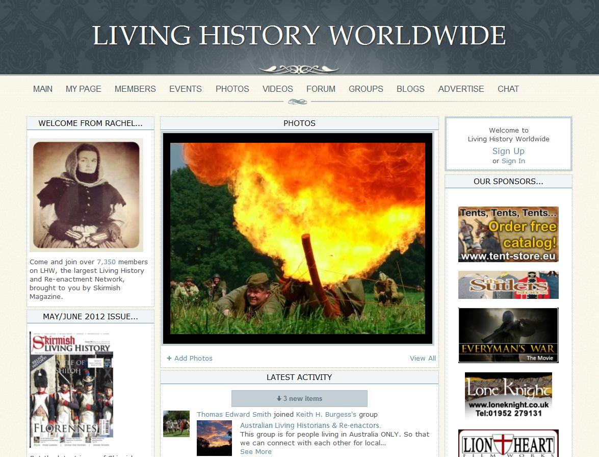 Living History Worldwide